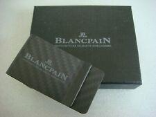Blancpain Carbon Fiber Money Clip Boxed
