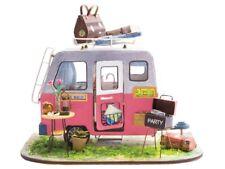Robotime DIY Mini House Happy Camper Children Miniature Craft Set ROB164312