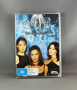 CHARMED - THE THIRD SEASON (6 x DVD DISC BOX SET) REGION 4 PAL - NEW/SEALED