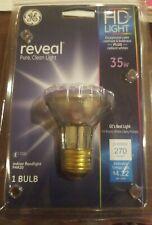 NEW GE Light Reveal 1 Directional PAR20 Indoor Floodlight Bulb 35W 270-Lu 74869