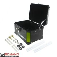 Motorcycle Aluminum Monokey Rear Seat Outback Storage Top Luggage Box Carrier