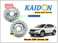 "Honda CRV disc rotor KAIDON (front) type ""RS"" / ""BS"" spec"