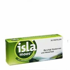 ISLA MOOS, In a dry cough and a hoarse voice, 30 tabs / * 2 count
