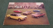 1974 OPEL RANGE Kadett Ascona Manta Rekord Commodore UK BROCHURE