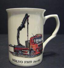 VOLVO FM9 HYAB TRUCK WAGON Fine Bone china mug cup beaker