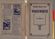 Australian Literature Primer WORDSWORTH Whitcombe & Tombs School Reader 128pg VG