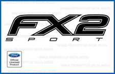 12 13 Ford F150 FX2 SPORT Decals FB offroad Stickers Truck Bed Side set black