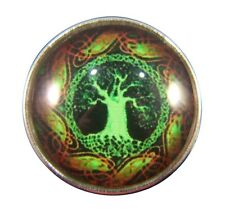 Noosa Style Chunks Snap Button Charms Ginger Snaps Charm Tree Of Life 20mm 079