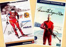 Ole Einar Björndalen John thingnes Boe (2) - 2 AK-PICTURES + AK FREE