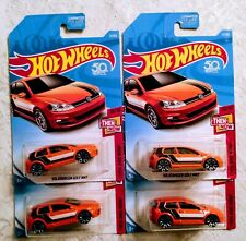Hot Wheels Volkswagen Golf MK7 #21 Then And Now 10/10 Lot of 4 50th Anniversary