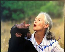 JANE GOODALL SIGNED AUTOGRAPHED 8X10 PHOTO - VERY RARE LEGENDARY APE SCIENTIST B