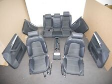 Sitzgarnitur komplett S-Line Leder/Stoff Schwarz AUDI A3 (8P1) 2.0 TDI