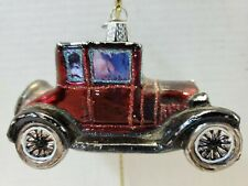 Old World Christmas Model T Old Car Ornament (Br)