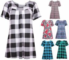 Floral Plus Size Tops & Shirts for Women with Smocked