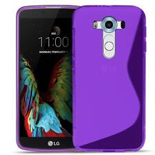 Phone Cover LG G3 Silicone Case Case Slim Rubber Case Backcover Purple