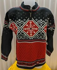 NWT Dale of Norway 100% Wool Sweater - Coca Cola Isbjorn  Pattern Unisex Size M