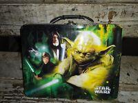 2011 The Tin Box Star Wars Lunch Box Yoda/Darth Vader Lucasfilms
