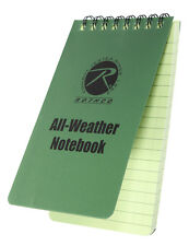 "Waterproof Notebook Police Duty All Weather Waterproof 3"" X 5"" Notebook 470"