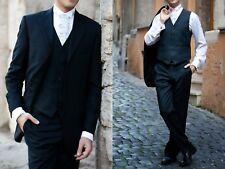 Carlo Pignatelli abito da sposo cerimonia matrimonio grigio grey man Suit tg 46