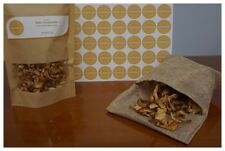 Greek Wild Chanterelle Dried Whole Mushrooms Fungi 1500gr ( 52.91oz )