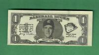 1962 TOPPS BASEBALL BUCKS JERRY WALKER KANSAS CITY ATHLETICS EX-MT OC