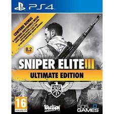 Sniper Elite III - Ultimate Edition + Bonus  PS4 VF NEUF SOUS BLISTER