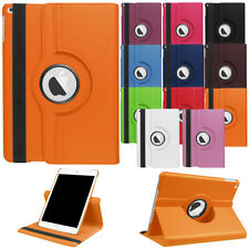 "Rotating Stand Leather Case For iPad 9.7"" 2 3 4 5th 6th Smart Shockproof Cover"