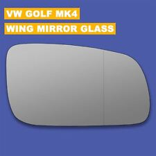 For VW Golf mk4 wing mirror glass 96-04 Right Driver side Aspherical Blind Spot