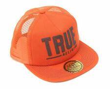 True Religion Men's Hard Knocks Trucker Hat Cap - Burnt Orange