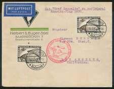 Zeppelinpost, Südamerikafahrt 1930 mit 2x MiNr. 439 Y, Sieger 57 F (87693)
