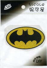 Batman LOGO Iron on Transfer Kid's BRAND NEW WITH RETAIL PACKAGING