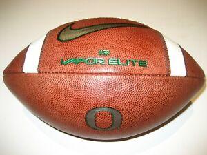 2019 Justin Herbert Era CHROME Oregon Ducks GAME BALL Nike Vapor Elite Football