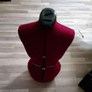 Adjustable Dress Form Sewing Display Female Mannequin Torso