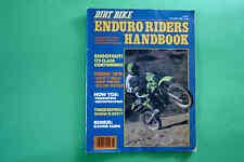 Dirt Bike  Enduro Riders Handbook October 1980