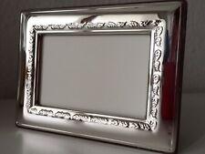 Massiv Sterling Silber 925 Bilderrahmen 13x18 Silberrahmen 1,5cm Hammer NEU.