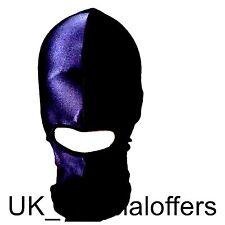 Negro Spandex Elástico GIMP Máscara Hood Boca Agujero Diversión Fiesta Santa Secreto