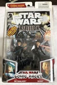 Star Wars Comic Packs Star Wars Rebellion #3 Luke Skywalker & Deena Shan