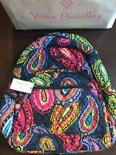 Vera Bradley Essential Backpack Twilight Paisley Pattern 23661 K01