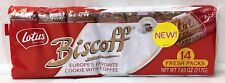 Lotus Biscoff European Cookies Fresh Packs 7.65 oz