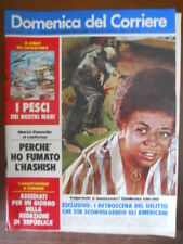 Domenica del Corriere n°31 1975 Navi Michelangelo e Raffaello [G110D]