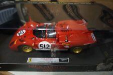 1/18  Hot Wheels Elite Ferrari 512 S NICK MASON