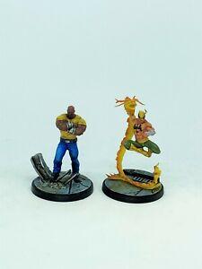 Marvel Crisis Protocol LUKE CAGE & IRON FIST Pro Painted