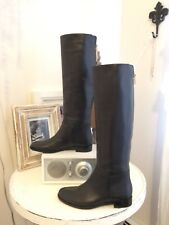 NEW LANVIN boots PRICED TO SELL! black leather size 5.5 US, 35.5 EU WONT LAST