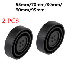 2PCS Universal Seal Cap Dust Cover 5 Sizes for Car Headlight LED HID Lamp Kits