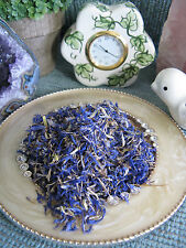NEW NATURAL DRIED BRIGHT BLUE CORNFLOWER FLOWER PETALS