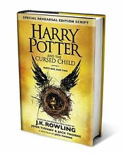 Harry Potter and the Cursed Child Parts Special Edition 1 & 2 Script Hardcover