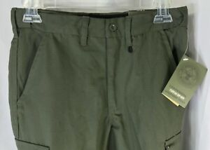 Boy Scouts of America Centennial Canvas Zip-Off Uniform Pants Youth 12