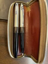 Sheaffer Fountain pen (snorkel restored) and Vintage Case