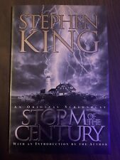 Storm of the Century by Stephen King (1999, Hardcover) FREE SHIPPING