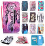 For LG Leon 4G LTE H340N C50 Flip Wallet Card PU Leather Stand Case Cover Pouch